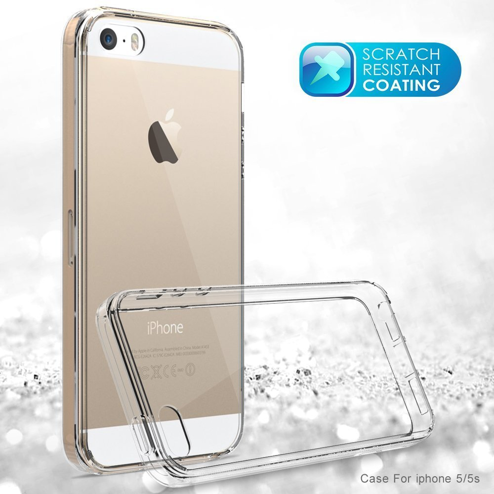 online store 4f018 20565 iPhone SE Case, AOFU Slim [Crystal Clear] [Shock Absorption ...
