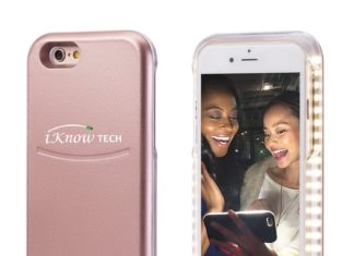 Perfect Those Selfies with a Light Up Phone Case!